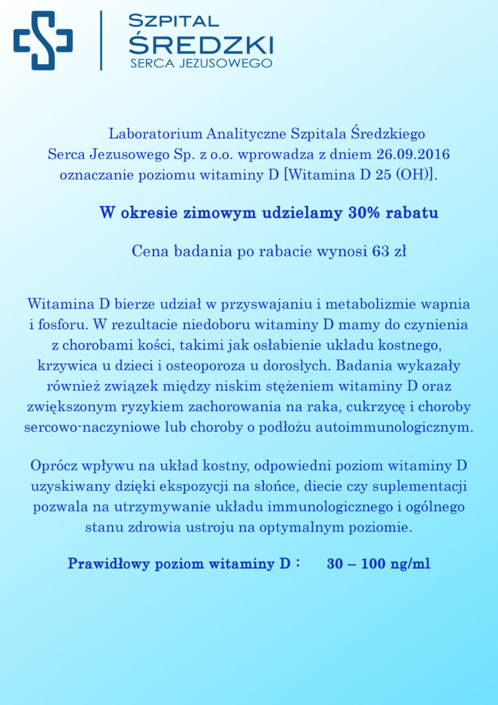 Laboratorium witamina D
