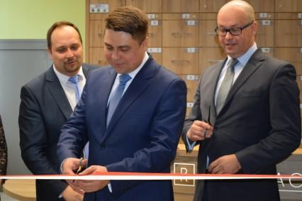 Otwarcie nowej rejestracji szpitala - marzec 2016r.
